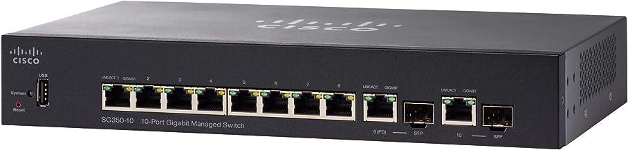 Cisco SG350-10 - 10-Port Gigabit Managed Switch