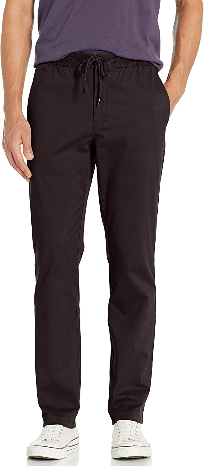 Goodthreads Straight-fit Washed Chino Drawstring Pant Hombre