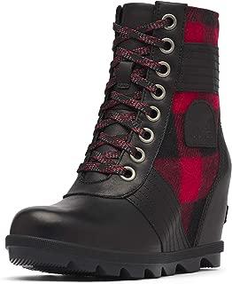 ladies tartan boots