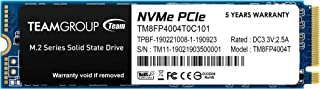 TEAMGROUP MP34 4TB with DRAM SLC Cache 3D NAND TLC NVMe 1.3 PCIe Gen3x4 M.2 2280 Internal SSD (Read/Write Speed up to 3,50...