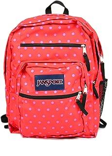 JanSport Big Student Backpack (One Size, Coral Dusk Dots)