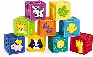 Earlyears Squeak 'n Stack Blocks Baby Toy