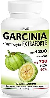 comprar comparacion GARCINIA CAMBOGIA Extra Fuerte 1200mg | 180 tabletas | 100% PURO y NATURAL | 720 mg HCA para la tableta | Quemador de Gras...