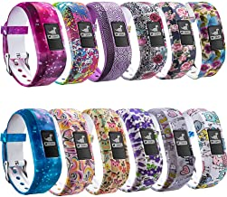 FITLI Compatible with Vivofit 3 Bands, Garmin Vivofit JR Bands, Vivofit JR 2 Bands, Replacement Bands Compatible with Kids...
