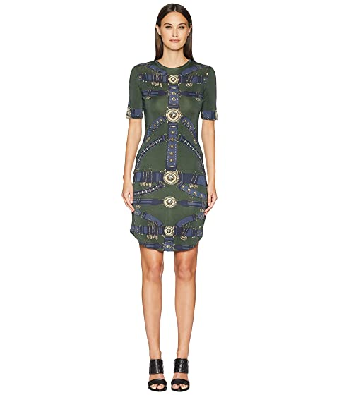 254dba6ca81b Versus Versace Abito Donna Jersey Dress at 6pm