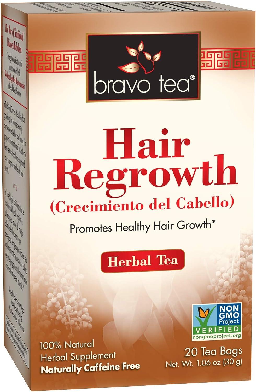 Bravo Tea Hair Regrowth Herbal Free 20 Bags Max 83% OFF Max 74% OFF Caffeine