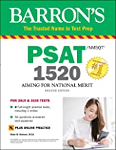 PSAT/NMSQT 1520 with Online Test (Barron's Test Prep)