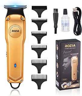 Professional Hair Clippers for Men - Barber Clippers for Hair Cutting Grooming Kit - Cordless Hair Trimmer for Men, Rechar...