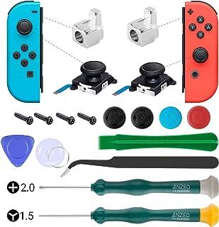 UOWGA Joycon joystick ersättning, 2-pack omkopplare analog tumpinne för Nintendo Switch, Joy Con Controller-reparationssat...