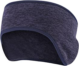 Fleece Ear Warmer Cover Headband - Ear Muffs for Men & Women Perfect for Winter Running Yoga Skiing Wort Out Riding Bike in Cold and Freezing Weather