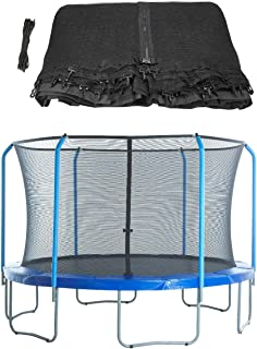 Upper Bounce Replacement Safety Enclosure Net - Curved Poles and Top Ring Frame