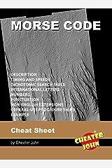 Morse Code Cheat Sheet (Morse Code Puzzles) Kindle Edition