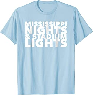 Mississippi Nights and Stadium Lights Football Shirt