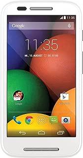 Motorola Moto E (1st Generation) - White - 4 GB - Global GSM  Unlocked Phone