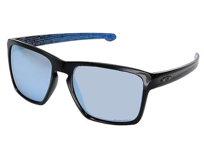Oakley Sliver XL (Polished Black w/ Prizm Deep Water Polarized) Fashion Sunglasses
