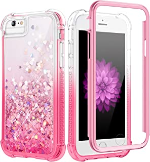 Caka - Funda con purpurina para iPhone 6 Plus 6S Plus 7 Plus