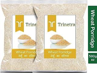 Trinetra Gehun Daliya (Wheat Porridge)-500gm (Pack of 2)