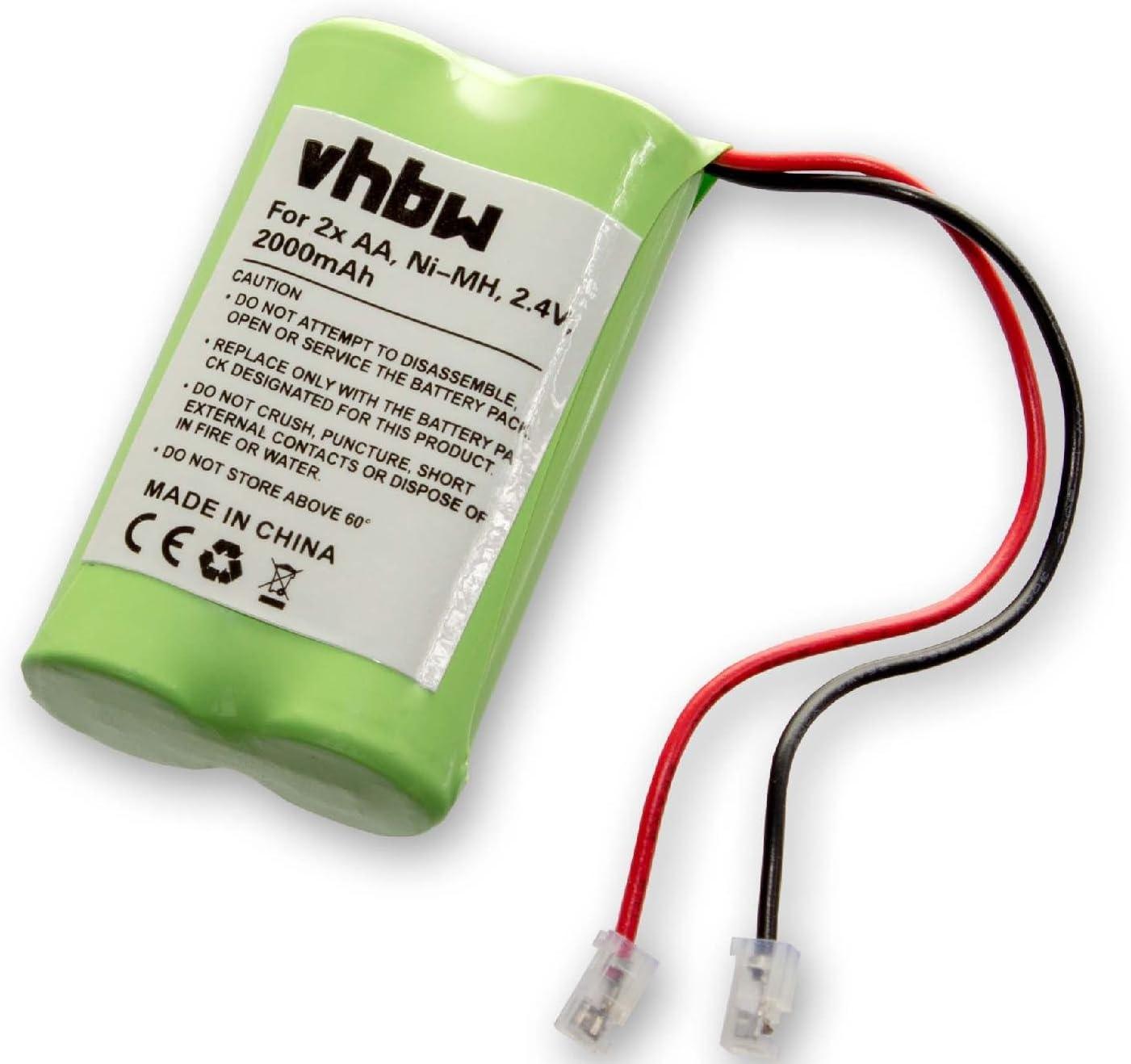 Vhbw Nimh Universal Battery Pack 2000 Mah 6 V 5 X Aa Elektronik