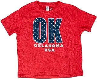 Calamity Jane Kid's S/S Oklahoma USA Shirt