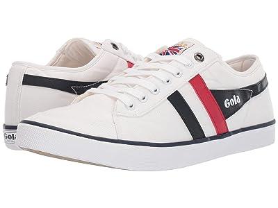 Gola Comet (White/Red/Navy) Men