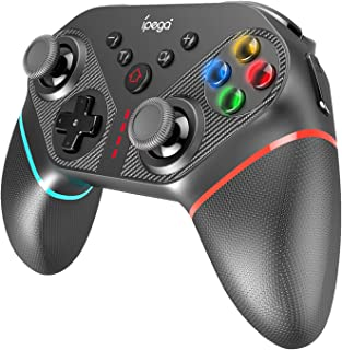 Tomshin PG-SW038A Gamepad remoto recarregável de controlador sem fio com giroscópio de 6 eixos/TURBO/Vibração de motor dup...
