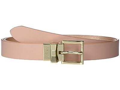 Kate Spade New York 25 mm Reversible Belt (Flapper Pink/Rose Gold) Women