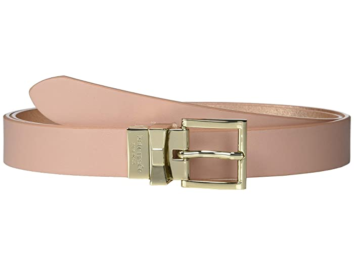 Kate Spade New York 25 mm Reversible Belt (Flapper Pink/Rose Gold) Women