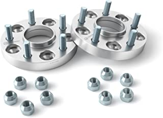 StanceMagic - 1 inch Hubcentric Wheel Spacers (5x4.75, 70.3mm Bore, 7/16x20 Studs) Works with Older Buick Chevy Chevrolet Oldsmobile (See Listing for Exact Years Models) Silver 5x120 Adapters 2pcs