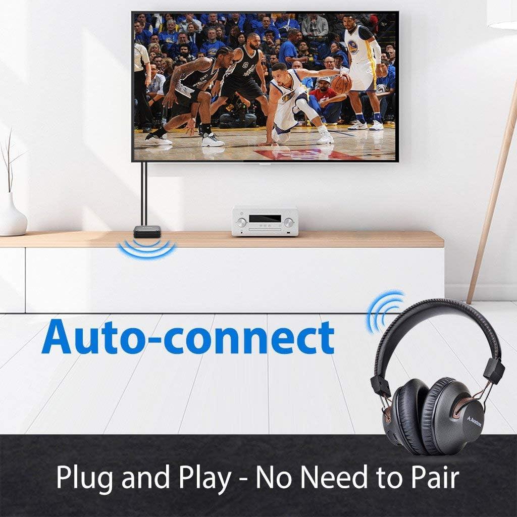 Avantree HT4189 40 Hrs Wireless Headphones for TV
