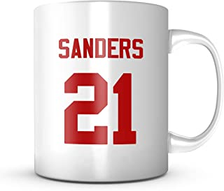Deion Sanders Mug - San Francisco Football Jersey Number Coffee Cup 11 oz