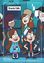 Notebook: Gravity Falls Medium College Ruled Notebook 129 pages Lined 7 x 10 in (17.78 x 25.4 cm)
