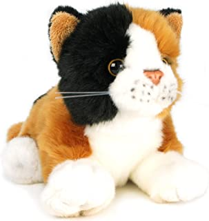 VIAHART Caliope The Calico Cat | 7 Inch (Without Tail!) Animal Plush | by Tiger Tale Toys