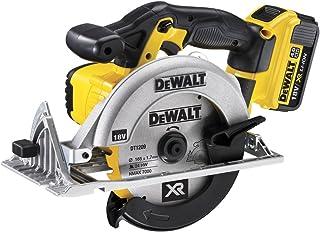 DEWALT DCS391M2-GB XR 165 mm Circular Saw, 18 V, Yellow/Black, 2 x 4 Ah