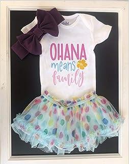 Lilo & Stitch Onesie - Ohana Means Family Baby Onesie