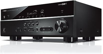 Yamaha MusicCast RX-V485 - Receptor AV, Color Negro