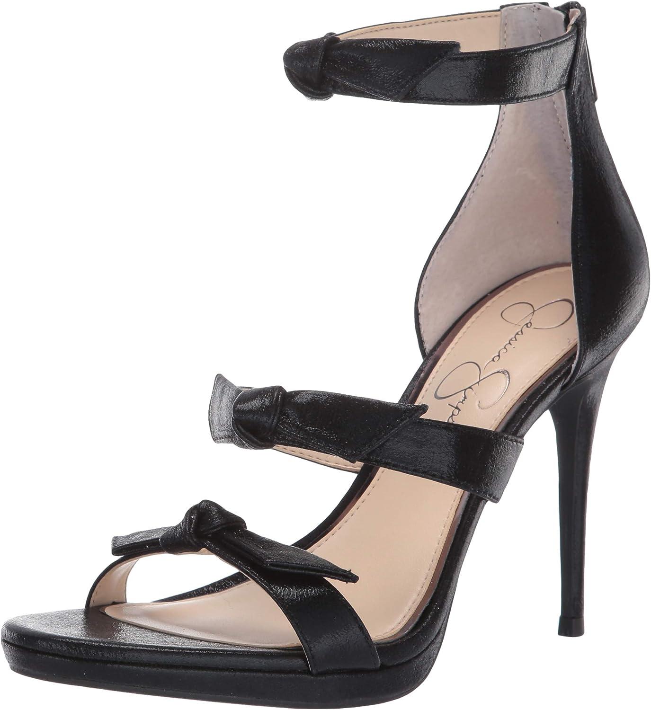 Jessica Simpson Womens Kaycie Heeled Sandal