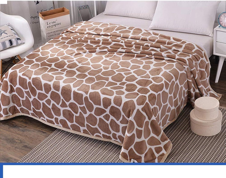 XiongDaDa Couverture Polaire de Corail,Draps de lit,épaissir Garder au Chaud Hiver Couvertures-T 150x200cm(59x78inch)