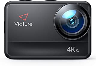 Victure Action Cam AC940 4K/60FPS Wi-Fi 20MP Impermeabile Fino a 5 Metri di Metallo Nudo Touch Screen con Controllo Remoto...