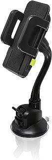 Bracketron TekGrip Universal Smartphone Car Window Mount Phone Holder Hands Free Compatible iPhone X 8 Plus 7 SE 6s 6 5s 5 Samsung Galaxy S9 S8 S7 S6 S5 Note Google Pixel 2 XL LG Sony Nokia BT1-642-2