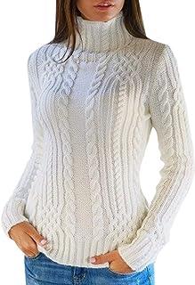 enorme sconto a57e8 b5bd1 Amazon.it: maglione lana - Bianco / Donna: Abbigliamento
