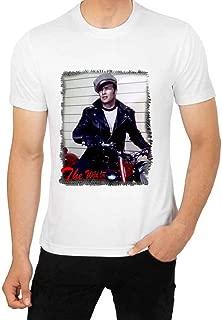 Marlon Brando T Shirt The Wild One Movie 1950s Mens Apparel Tees