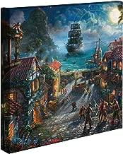 Thomas Kinkade - Gallery Wrapped Canvas , Pirates of the Caribbean , 14