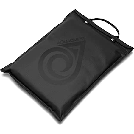 """Aqua Quest Storm Laptop Sleeve - 100% Waterproof, Lightweight, Durable, Padded Case - Protective Computer Pouch Cover Bag - 13"""" Black"""