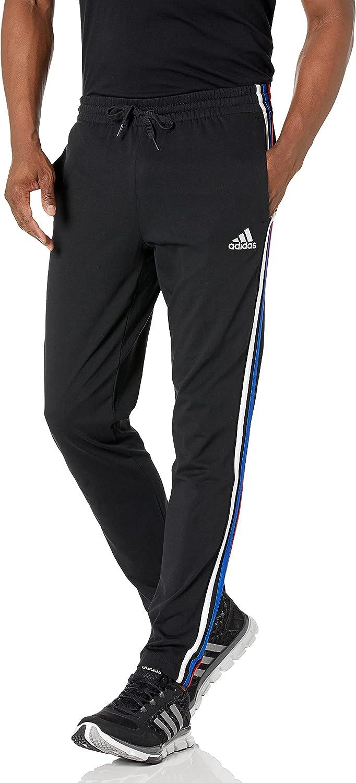adidas mens Essentials Max 57% OFF 3-Stripes Jacket Tricot Track San Jose Mall