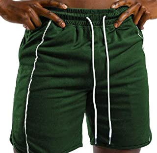 MK988 Men Drawstring Outdoor Gym Workout Skinny Fit Running Shorts