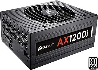 Corsair AX1200i - Fuente de Alimentación (Completamente Modular, 80 Plus Platinum, 1200 Watt, Digital, EU)