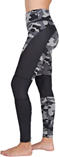 90 Degree By Reflex Etched Camo Print Workout Leggings