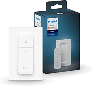 Philips Hue v2 Smart Dimmer Switch and Remote, Installation-Free, Smart Home, Exclusively for Philips Hue Smart Lights (20...