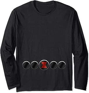 Black Widow Natasha Romanoff Belt Costume Long Sleeve T-Shirt
