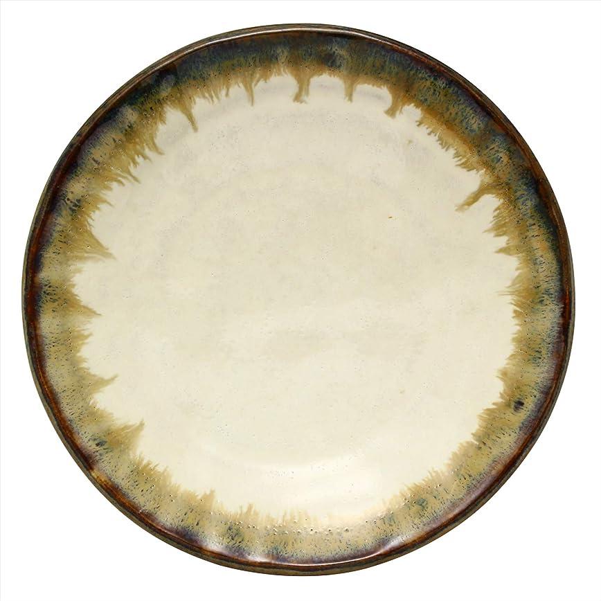 冷ややかなドラッグ単独でかじゅあるらいふ(Kakuni) 小皿 グレー 16.6cm 美濃焼 手びねり 取皿 錆簾 K131082